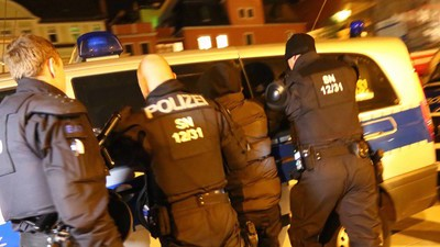 In Bautzen haben Neonazis gestern wieder Flüchtlinge gejagt