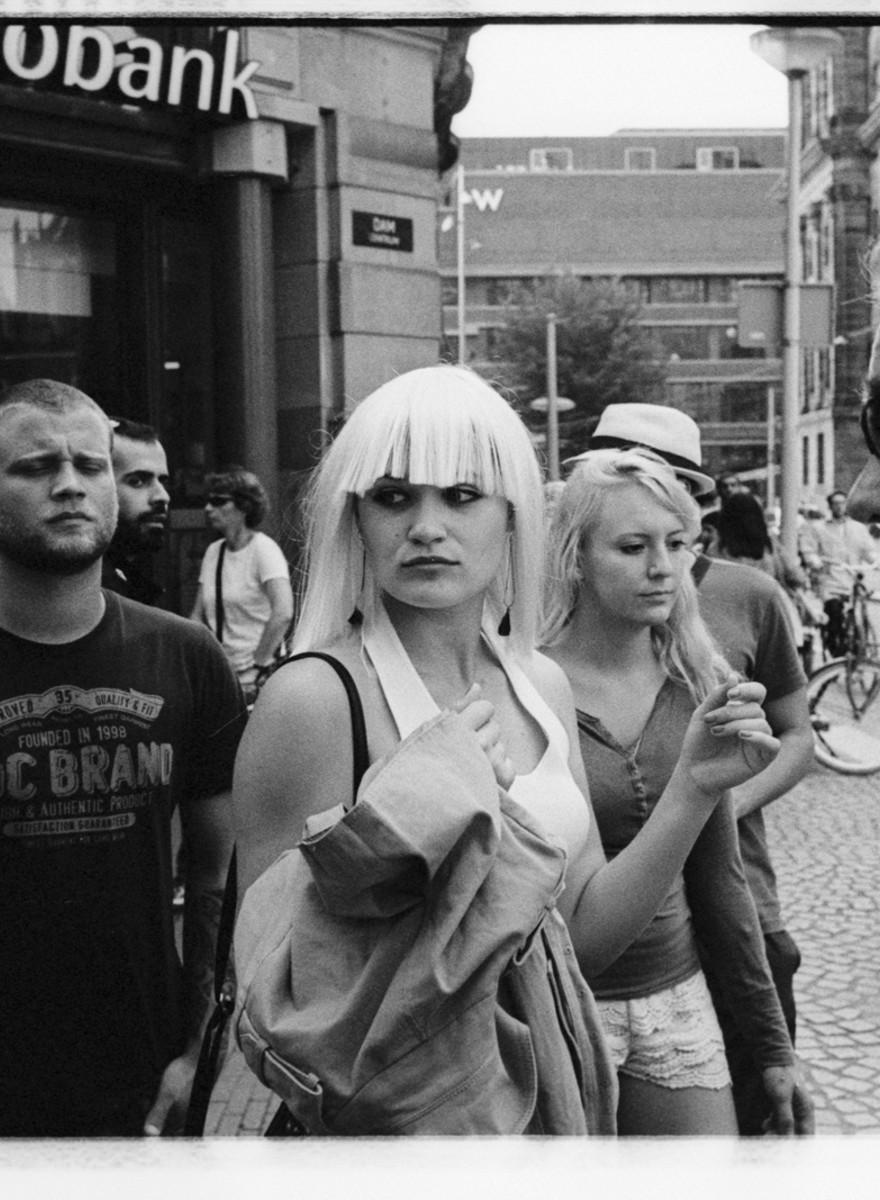 Maarten van der Kamp legt al dik zes jaar de straten van Amsterdam vast