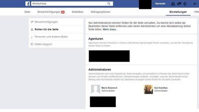 Facebook-Leak zeigt Namen von mutmaßlichen Anonymous-Kollektiv-Hintermännern