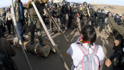 Would Cops Treat Pipeline Protesters Differently if More Were White?