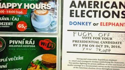 Americké volby počesku