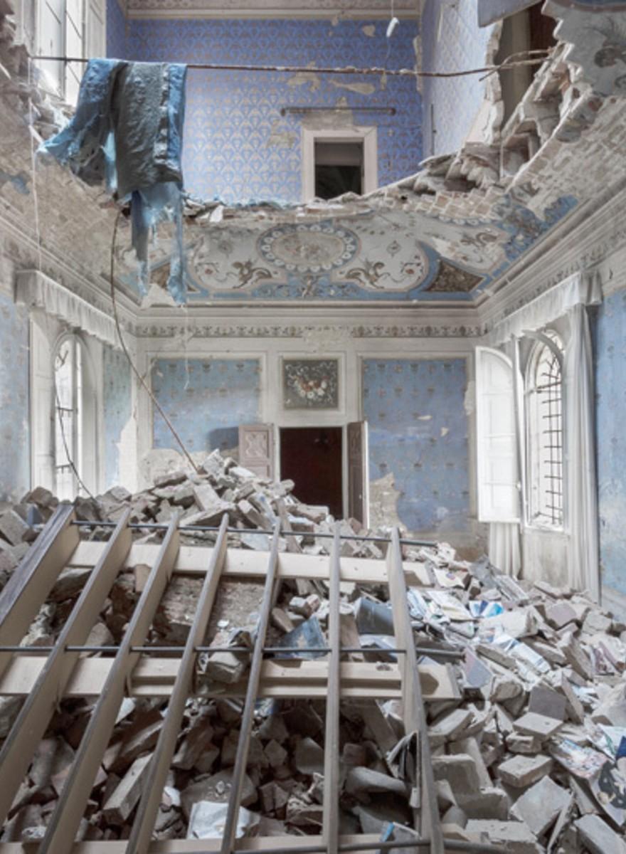 Foto dei palazzi abbandonati d'Europa