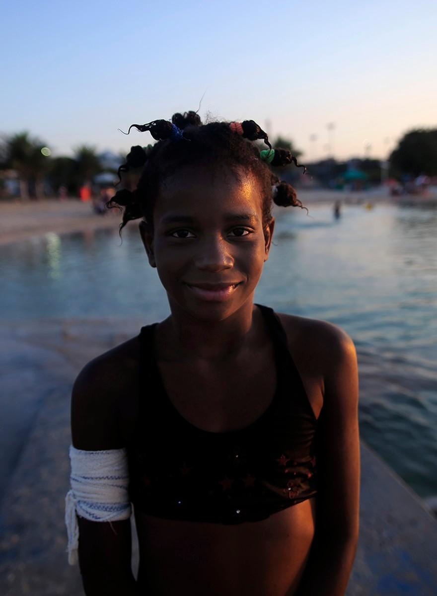 Retratos de moradores e trabalhadores da Maré