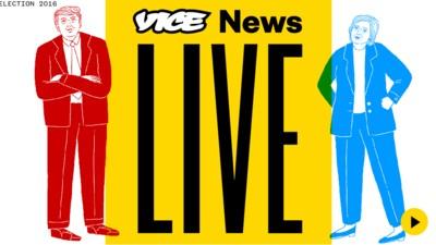 Der VICE News-Livestream zur US-Wahl