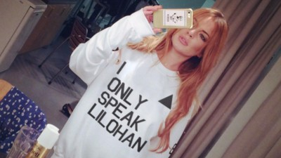 Lindsay Lohan Is Using Her Unique New Accent To Raise Money For Charity Now