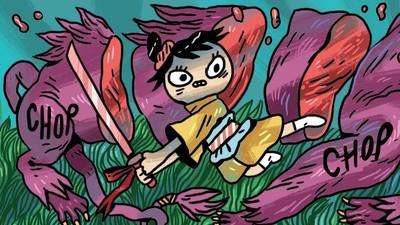 'Hungry,' Today's Comic by Ida Eva Neverdahl