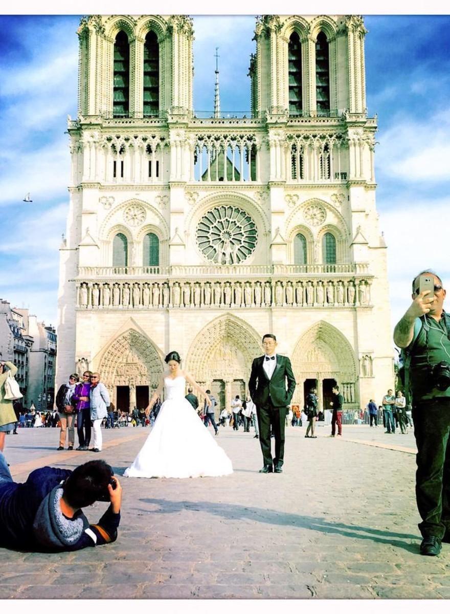 Los esposos chinos de París