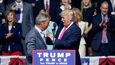 Exploring the New 'Special Relationship': the Unholy Bond Between Trump and Farage