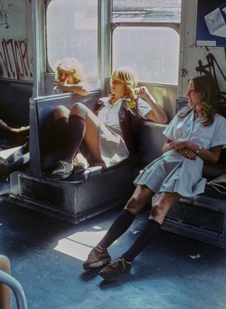 Fotos aus der New Yorker Subway zur Zeit von 'The Get Down'