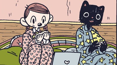 'Catboy Slumberparty,' Today's Comic by Benji Nate
