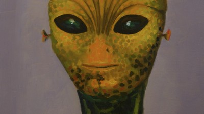 Meet the Painter Making Art from His Alien Experience