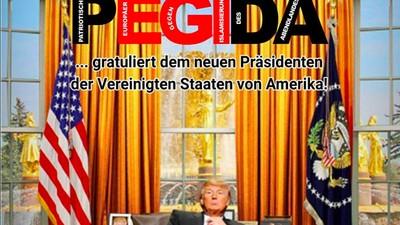 So freuen sich Deutschlands Populisten über Präsident Trump