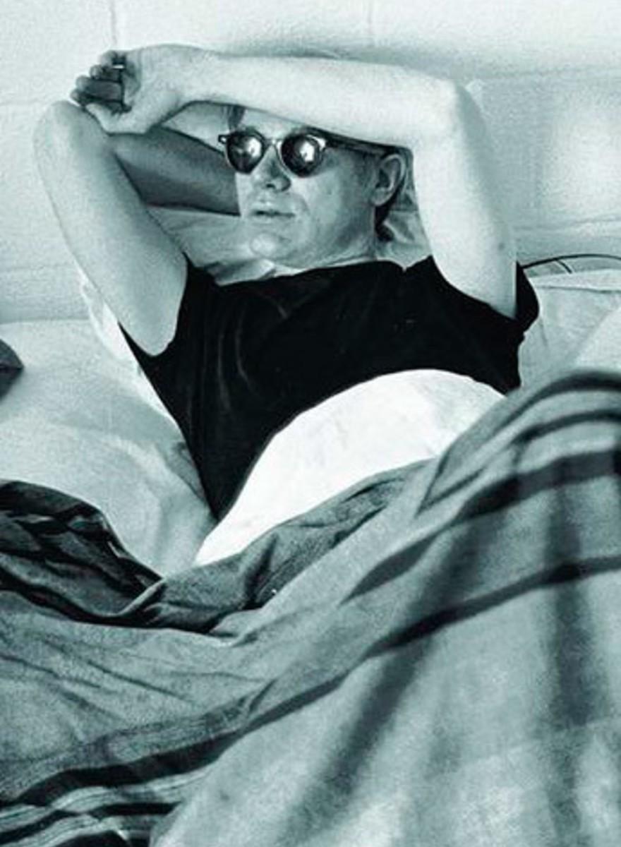 Fotografías de la época más creativa en The Factory de Andy Warhol