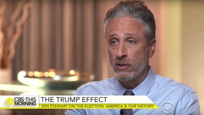 Here's What Jon Stewart Had to Say About Trump's Election