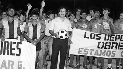 Les narcos et le football : on a discuté avec le fils de Pablo Escobar