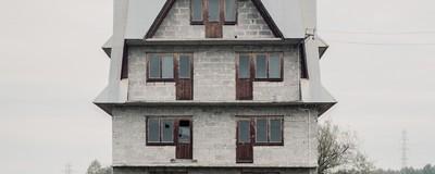 Opuszczone domy górali-emigrantów