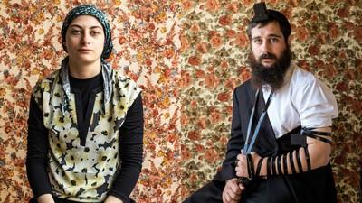 Intime Porträts einer orthodoxen jüdischen Familie