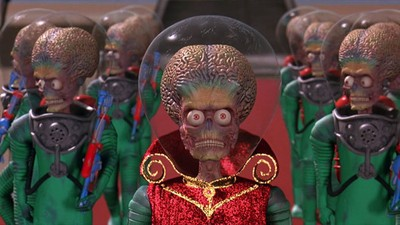 'Mars Attacks!' Was the Disaster Movie That Ravaged Disaster Movies
