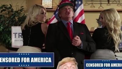 Como é fazer de Donald Trump numa paródia porno