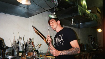 Inside the Glass Studio of a Guy Who Makes £80,000 Pipes