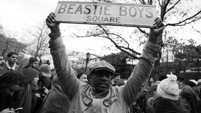 Inside The Beastie Boys' 'Anti-Hate' Rally at Brooklyn's Adam Yauch Park