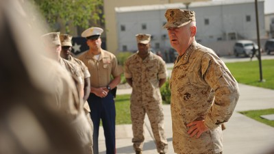 Trump Says Marine General James 'Mad Dog' Mattis Could Be Defense Secretary