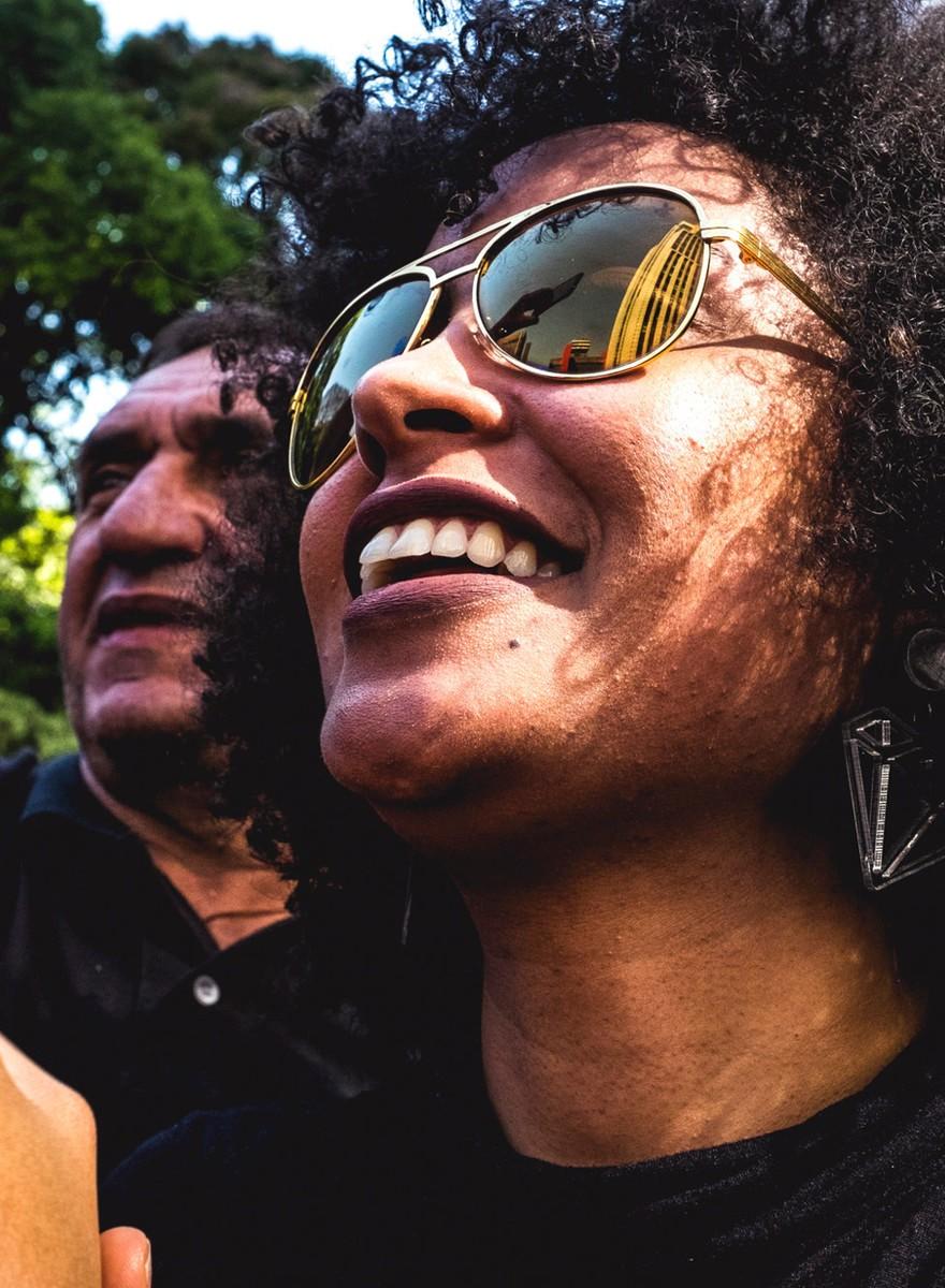 A marcha do Dia da Consciência Negra em SP traduzida em fotos e gifs