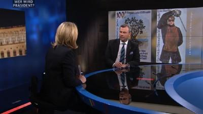 Ein Video legt nahe, dass Norbert Hofer im Interview mit Puls4 gelogen hat