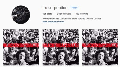 A Men's Clothing Store in Toronto Is Appropriating #BlackLivesMatter to Promote a Black Friday Sale