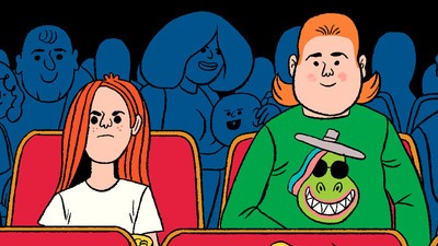 'Michael at the Theater,' Today's Comic by Stephen Maurice Graham