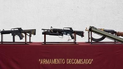 La otra inmigración ilegal: así es la ruta del tráfico de armas desde EE.UU. a México