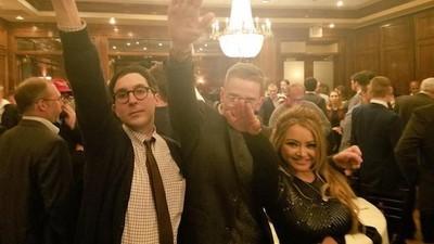 """""""Seig heil!"""" – Tila Tequila feiert in Washington den Wahlsieg von Trump"""
