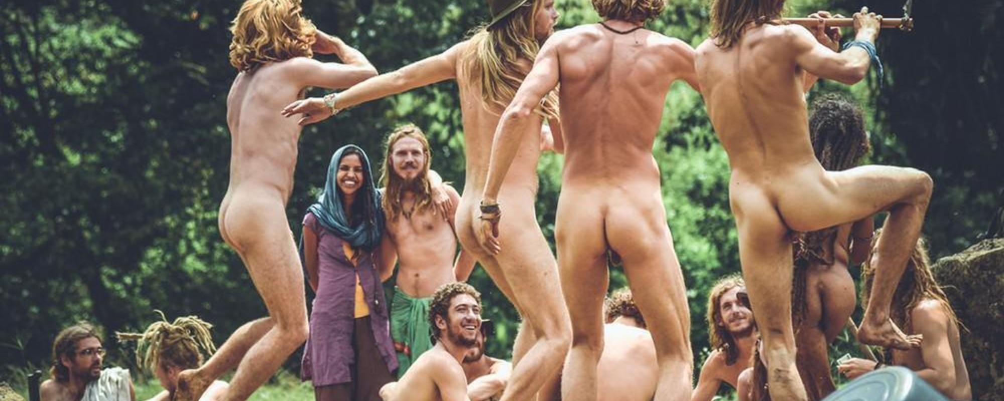 Hintern, Liebe und Trommelkreise: Postkarten aus einem modernen Hippie-Paradies