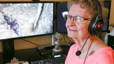 La abuela gamer que lo peta en YouTube