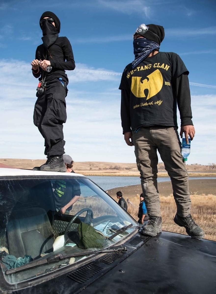 Krachtige foto's van de protesten bij Standing Rock