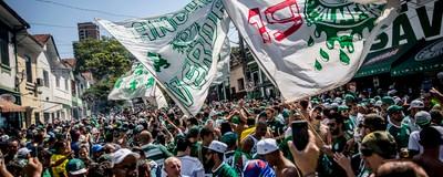 VICE 360 Por dentro da torcida do Palmeiras