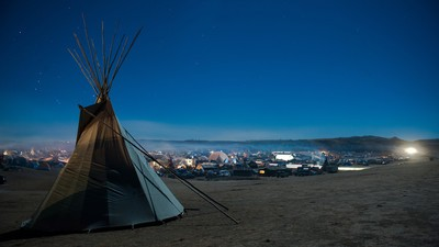 How The Dakota Pipeline Fight Is Digging in for a Brutal Winter