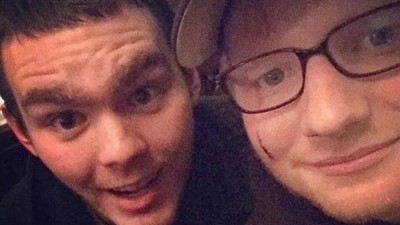 A Princess Sliced Ed Sheeran's Face While She Pretended to Knight James Blunt