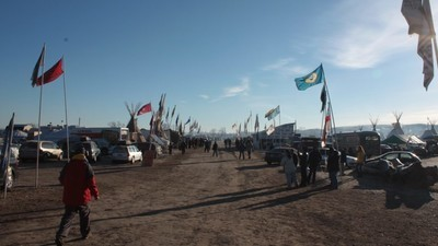 Standing Rock Protestors Won't Budge After Army Corps Tells Them to Leave