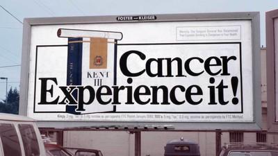 De kunstenaars die advertenties ongevraagd wat eerlijker maakten
