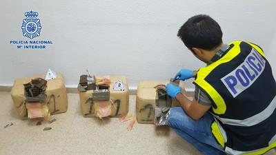 'Go fast', el método para transportar hachís utilizado por la última organización desarticulada en España
