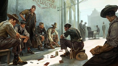 How Painting Opened Worlds of Possibility for 'Dishonored 2'