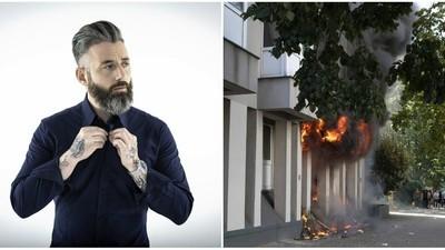 One-Hit-Wonder DJ Christopher S. soll seine Plattensammlung in Brand gesetzt haben lassen