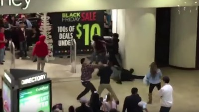 A Massive Brawl Broke Out at a California Mall on Black Friday
