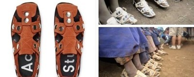 Acne Studios Withdraw Sandal After VICE Raises Similarities to Charity Design