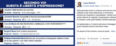 Cosa succede in Italia quando scrivi insulti e minacce a qualcuno online