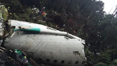 En imágenes: las primeras fotografías del avión siniestrado del Chapecoense