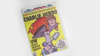 Die 1. deutsche Ausgabe von 'Charlie Hebdo' ist eher so … meh