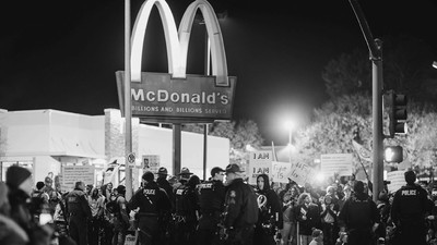 Scenes from the 'Fight for 15' Protest in Kansas City