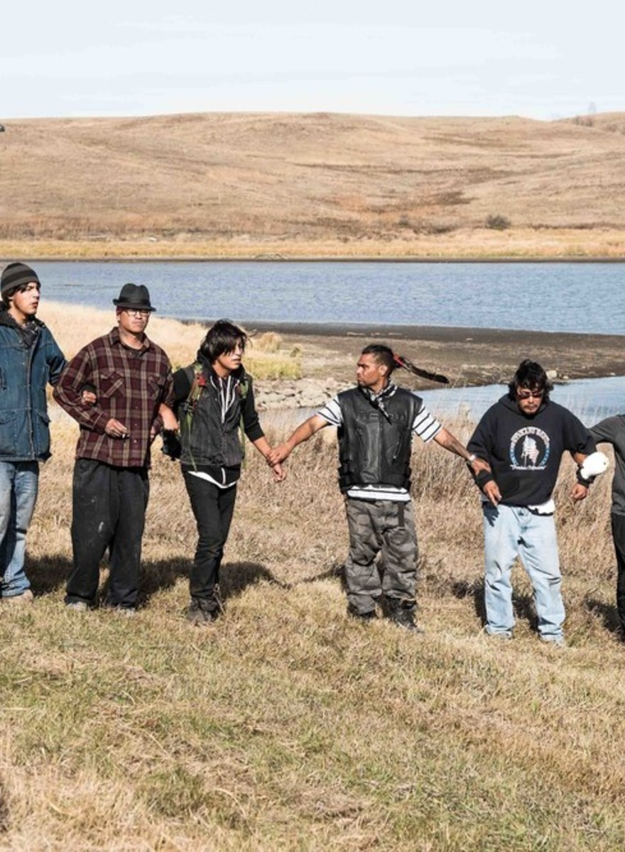 Powerful Photos of Resistance at Standing Rock